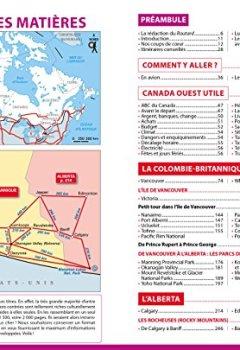 Livres Couvertures de Guide du Routard Canada Ouest 2018/19