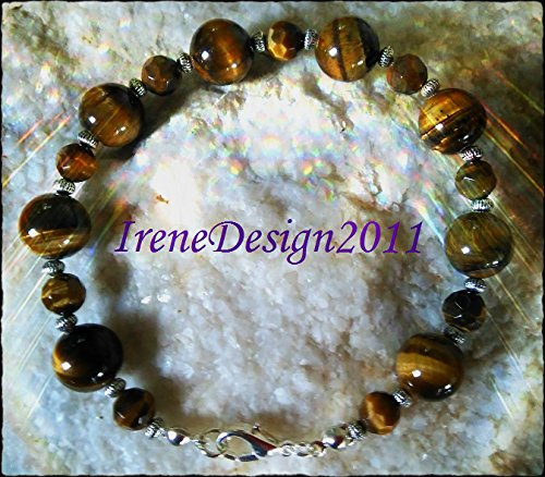 Tiger's Eye & Silver Bracelet