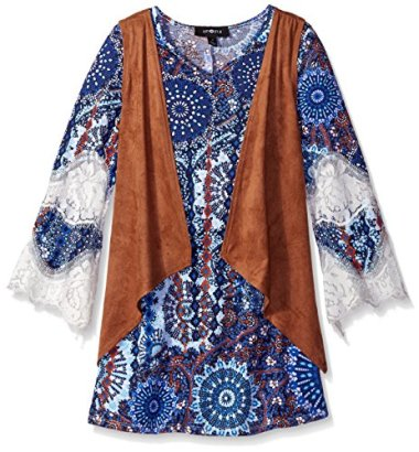 Amy-Byer-Girls-Big-Girls-Print-Knit-Bell-Sleeve-Dress-with-Vest