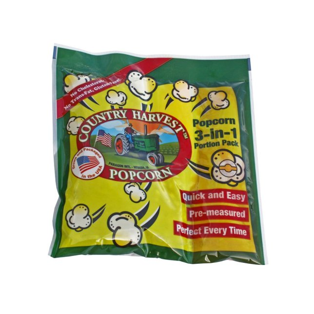 Country Harvest Popcorn Portion-Pack for 4-Ounce Poppers