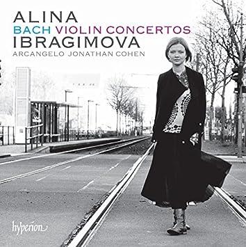JS Bach:Violin Concertos [Alina Ibragimova; Arcangelo, Jonathan Cohen ] [HYPERION: CDA68068]