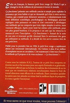 Livres Couvertures de Ca fonctionne ! Le fameux petit livre rouge qui donne vie à vos rêves !