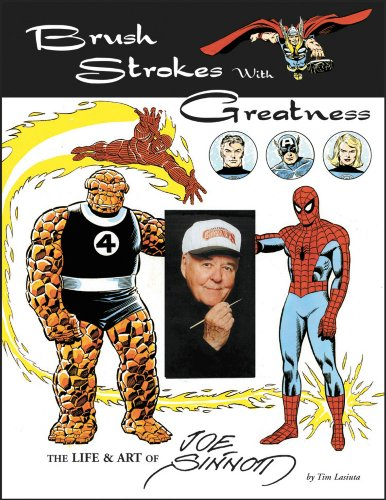 Brush Strokes With Greatness: The Life & Art Of Joe Sinnott, Mr. Media Interviews