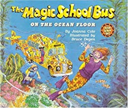 """Cover of """"The Magic School Bus on the Oce..."""