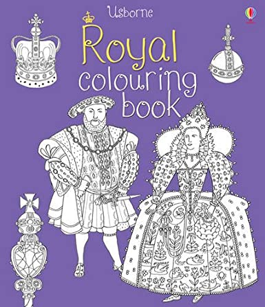 Royal Colouring Book