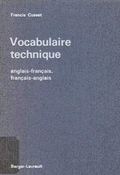 Telecharger Vocabulaire Technique Anglais Francais