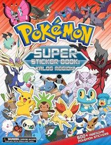 Pokemon Super Sticker Book: Kalos Region by | wearewordnerds.com