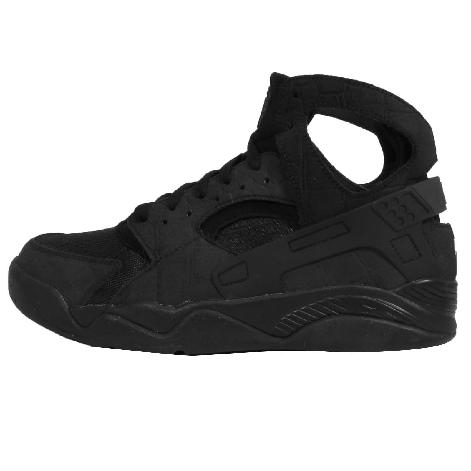 Nike Men's Air Flight Huarache, BLACK/BLACK-BLACK