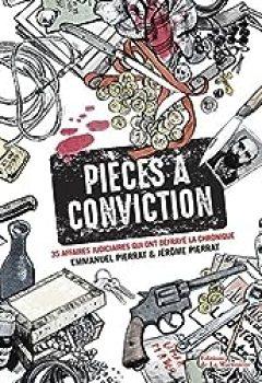 Livres Couvertures de Pièces à Conviction