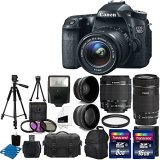 Canon-EOS-70D-Digital-SLR-Camera-Full-HD-1080p-Video-EF-S-18-55mm-F35-56-IS-STM-55-250mm-STM-IS-Lens-58mm-2x-Lens-Wide-Angle-Lens-Auto-Power-Flash-Uv-Filter-Kit-24GB-Accessory-Bundle