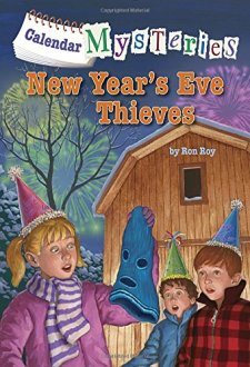 Calendar Mysteries #13: New Year's Eve Thieves (A Stepping Stone Book(TM)) by Ronald Roy| wearewordnerds.com
