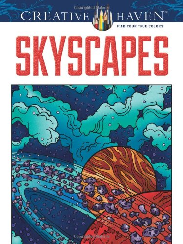 Creative Haven SkyScapes Coloring Book (Creative Haven Coloring Books)
