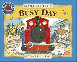 "Cover of ""Little Red Train: Busy Day"""
