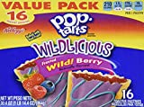 Kellogg's Pop Tarts NEW Wildlicious Frosted Wild! Berry 16 Count