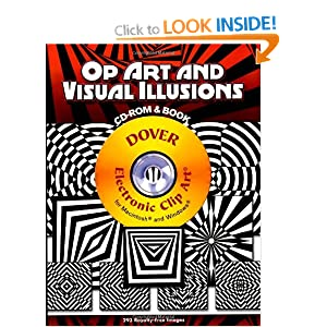 Op Art and Visual Illusions (CD Rom & Book)