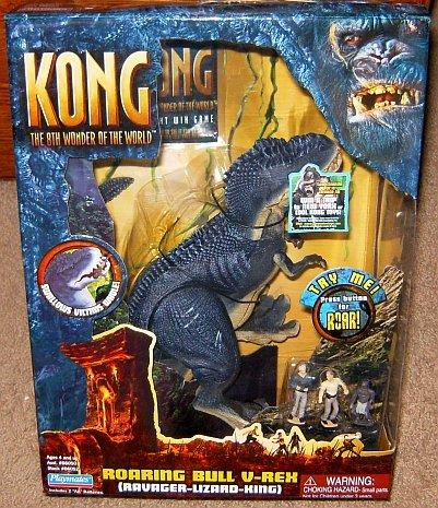 Ravager Lizard King Kong the 8th Wonder of the World Roaring Bull V-rex