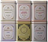 Harney & Sons Variety Pack Premium Sachets, 6 Flavors, 20 Tin Sachets Each