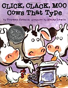 "Cover of ""Click, Clack, Moo: Cows That Ty..."