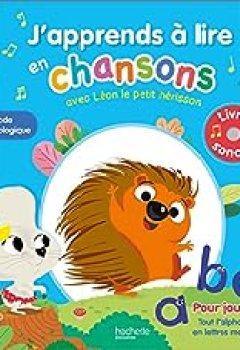 Livres Couvertures de J'apprends à Lire En Chansons