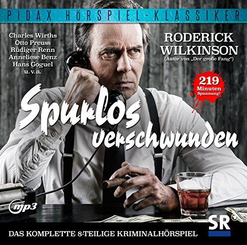 Pidax Hörspiel-Klassiker - Spurlos verschwunden (Roderick Wilkinson) SR 1964 / Pidax 2015