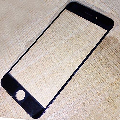 AIYOPEEN iPhone 6 4.7用フロントパネル/液晶ガラス割れ修理用パーツ(黒