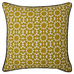 DwellStudio® for Target® Yellow Rosettes Decorative Pillow