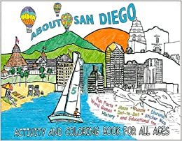 amazon in buy about san diego activity and coloring book for all