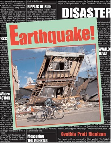 """Cover of """"Earthquake! (Disaster)"""""""