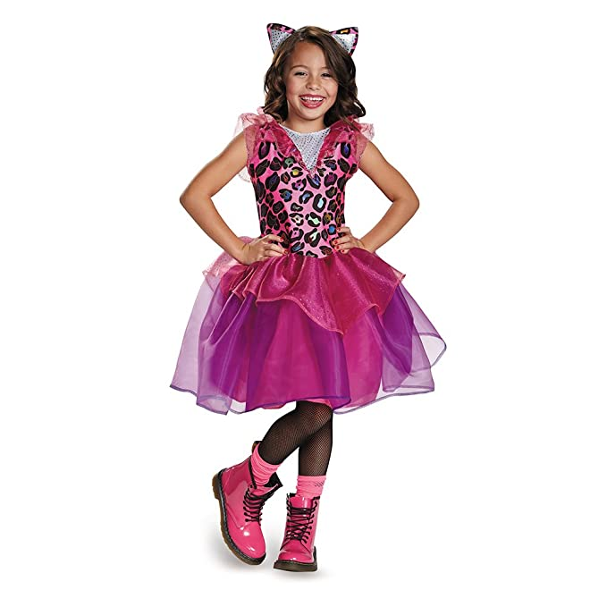 Disguise 84070L Leopard Kitty Costume, Small (4-6x)
