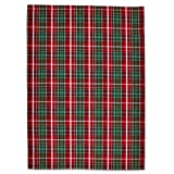 Sur La Table Red & Green Plaid Kitchen Towel 6341314 C