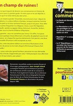 Livres Couvertures de L'Histoire de France Pour les Nuls, 2ème édition