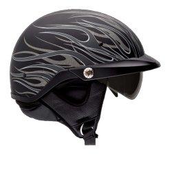 Bell-Pit-Boss-Flames-Motorcycle-Half-Helmet