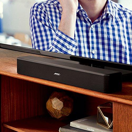 Bose Solo 5 TV sound system : ワイヤレスサウンドバー Bluetooth対応 ブラック Solo 5【国内正規品】