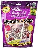 Yummy Earth Organic Vitamin C Lollipops 40+, 8.5 Ounce