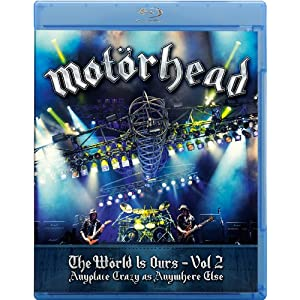 Motörhead - The Wörld Is Ours - Vol 2 Anyplace Crazy As Anywhere Else Blu-Ray