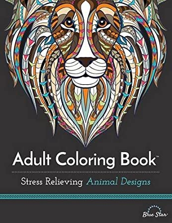 Color Animals From All Around The World While Relaxing With These Stress Relieving Animal Designs Coloring Books For Adults