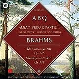 ブラームス:クラリネット五重奏曲&弦楽五重奏曲第2番