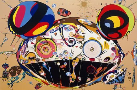 "Takashi Murakami Art 13 x 19"" Photo Print)"