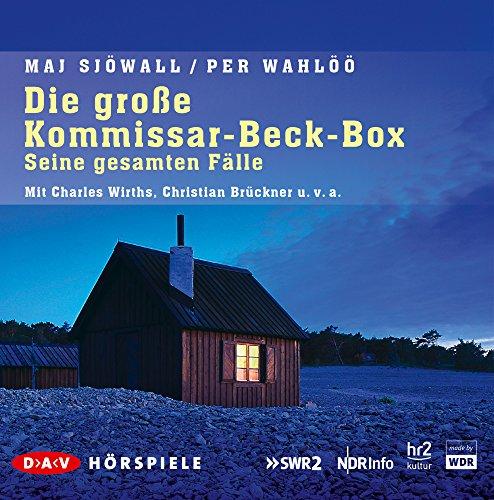 Die große Kommissar-Beck-Box - Seine gesammelten Fälle (Maj Sjöwall, Per Wahlöö) DIV / DAV 2015