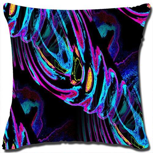Design Cotton Linen Square Decorative Throw Pillow Cover