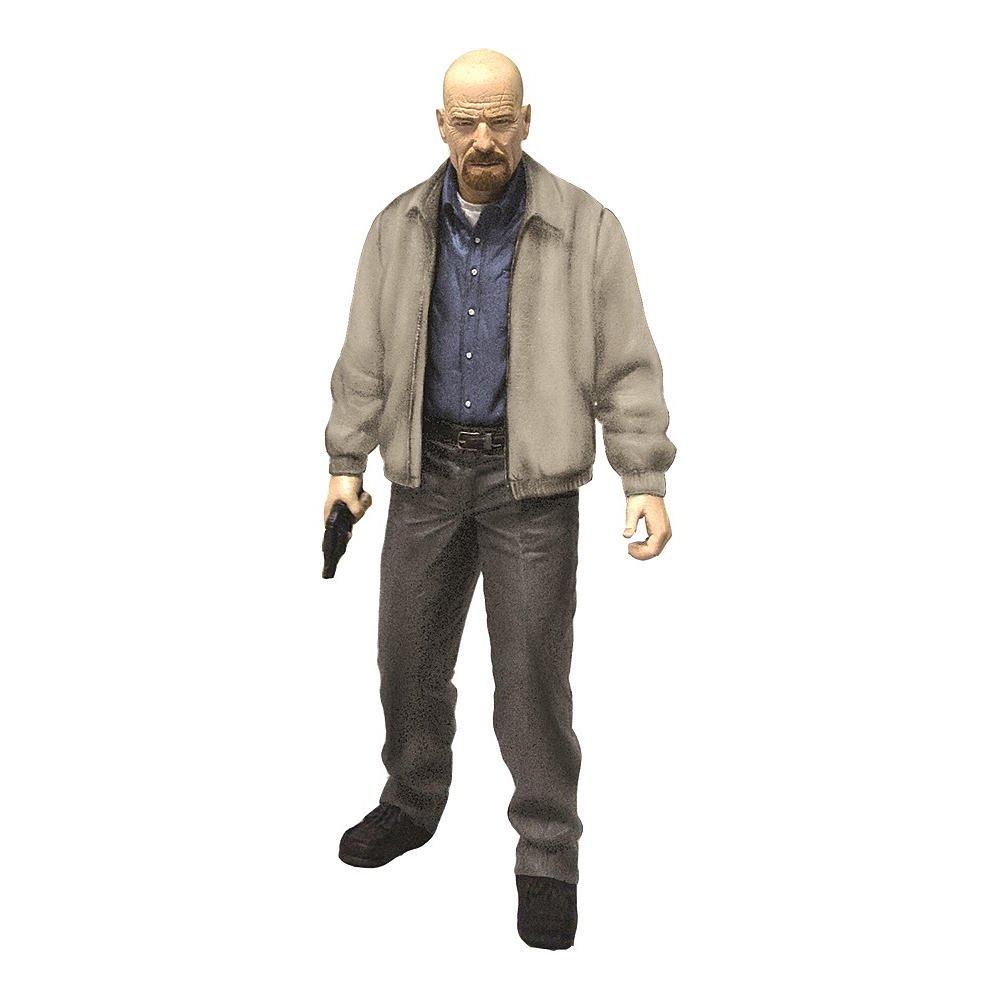 Walter white green apron - Mezco Toys Breaking Bad Heisenberg Walter White Gray Jacket