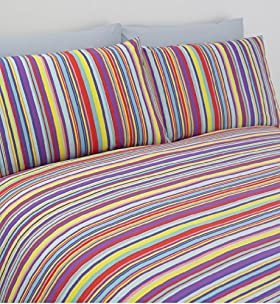Miami striped bedding - Marks & Spencer