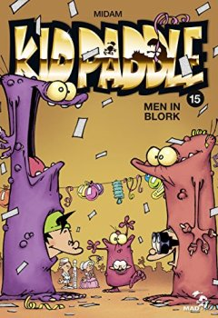 Livres Couvertures de Kid Paddle - Tome 15 : Men In Blork
