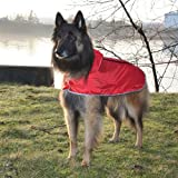 RC Pet Products Packable Dog Rain Poncho, Pitter Patter Pink, X-Large