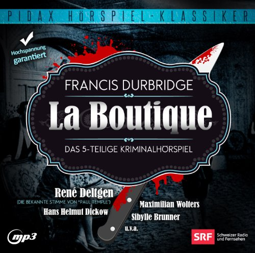 Francis Durbridge - La Boutique (pidax)