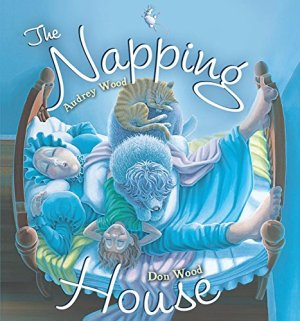 The Napping House board book by Audrey Wood | Featured Book of the Day | wearewordnerds.com