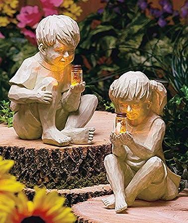 Boy Girl Statueall Children Statues