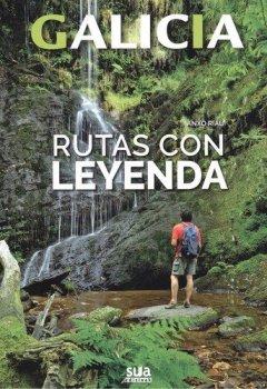 Portada del libro deRutas con leyenda (Galicia)