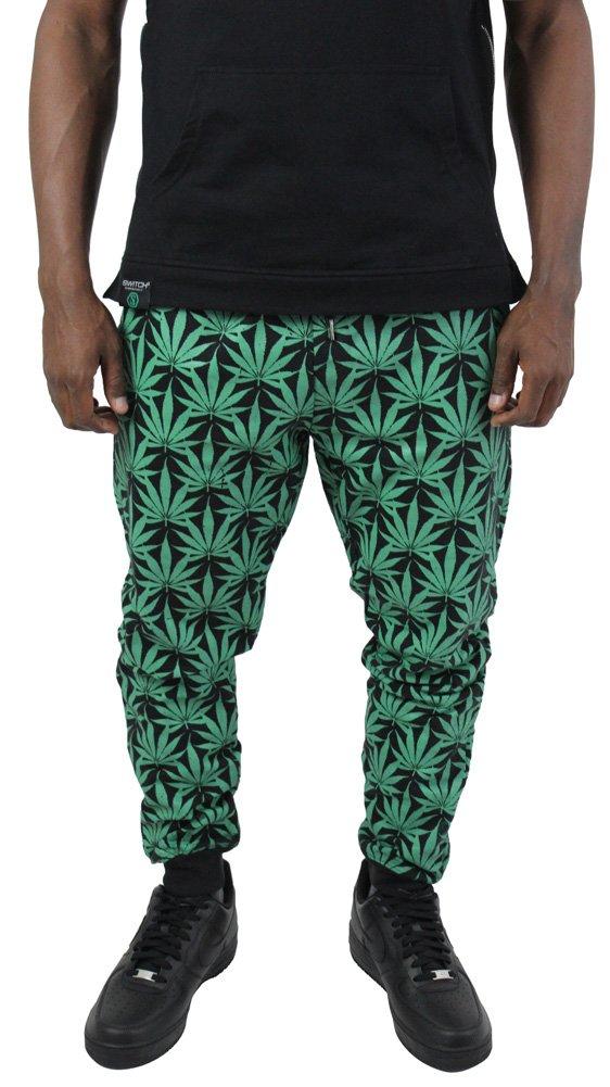 Switch Marijuana Weed Men's Jogger Jogging Sweatpants