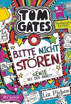 Cover von Tom Gates, Bd. 8: Bitte nicht stören, Genie bei der Arbeit